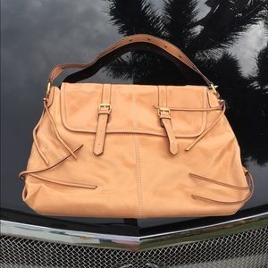 NWTag Mossimo Metallic Peach Purse-Snazzy Satchel!